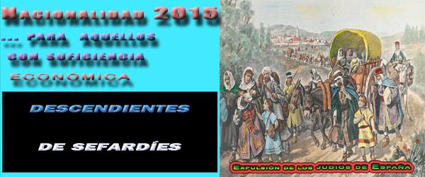 nacionalidad española para descendientes sefardíes