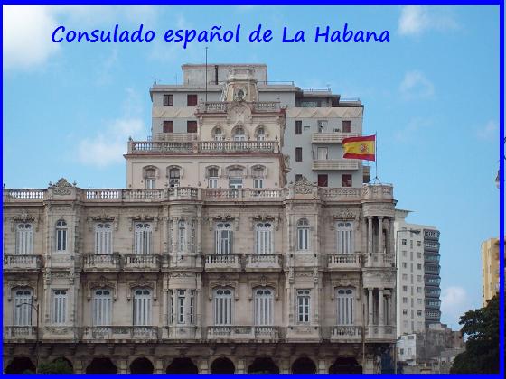 consulado español de La Habana Ley Nietos