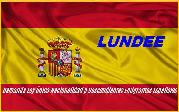 Demanda Ley Nacionalidad para España