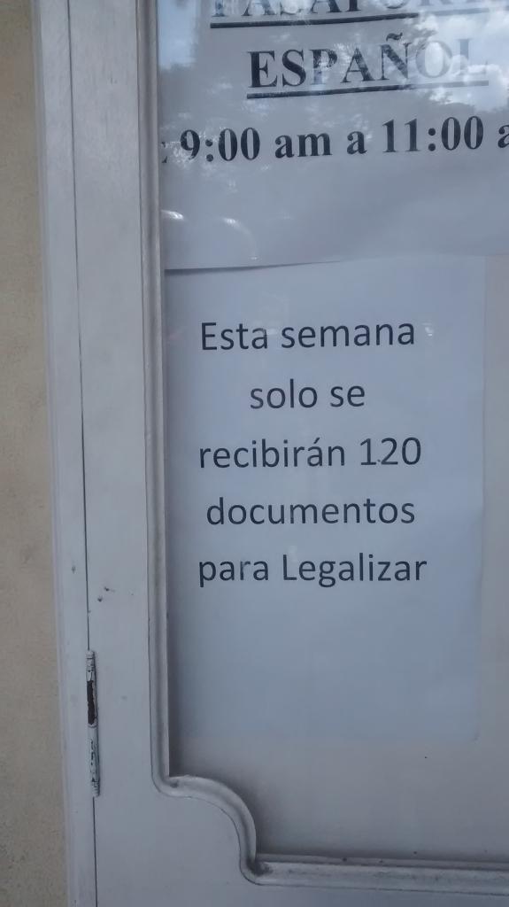 Informac del CE Habana s legalizac documentos
