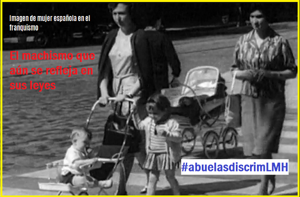 #descendemigesp, #abuelasdiscrimLMH