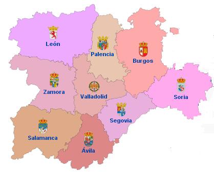 CCAA Castilla y León