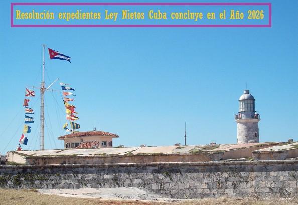 CE Habana, Ley Nietos